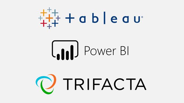 Comparing Power BI (Power Query) vs Tableau Prep vs Trifacta