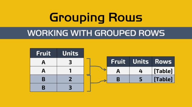 Grouping rows with Power BI / Power Query — Powered Solutions